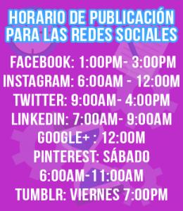 Horarios para publicar en las redes sociales descubre el horario ideal para publicar en tus redes sociales - horarios 260x300 - Descubre el horario ideal para publicar en tus redes sociales