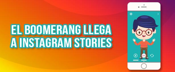 Los boomerang y las menciones llegaron a Instagram Stories