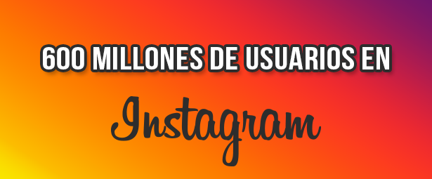 Con más de 600 millones de usuarios Instagram finaliza el 2016