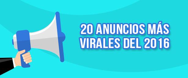 20 Anuncios más virales del 2016