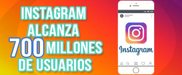 ¿Cuántos usuarios tiene Instagram en todo el mundo?