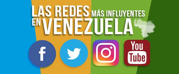 Las 4 redes sociales en Venezuela con mayor influencia