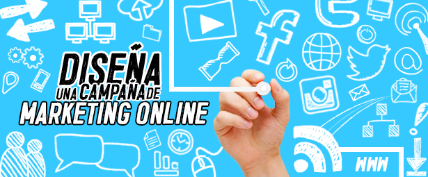 Diseña una campaña de marketing online efectiva