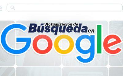 Actualizaciones más recientes de Google Search blog - Blog 24 400x250 - Blog de Producción Audiovisual y Marketing Digital