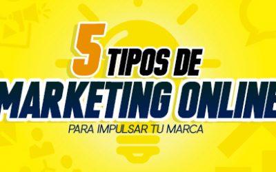 Conoce 5 tipos de marketing online para potenciar tu marca blog - Blog 241 400x250 - Blog de Producción Audiovisual y Marketing Digital
