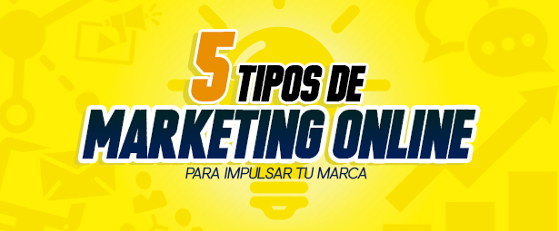 Conoce 5 tipos de marketing online para potenciar tu marca blog - Blog 241 - Blog de Producción Audiovisual y Marketing Digital