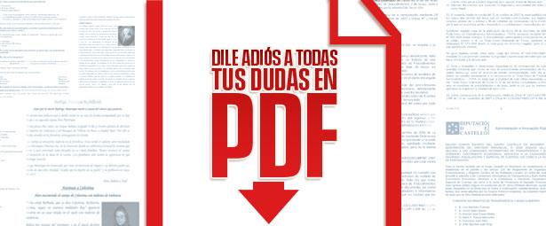 Dile adiós a todas tus dudas sobre PDF con esta nueva página web