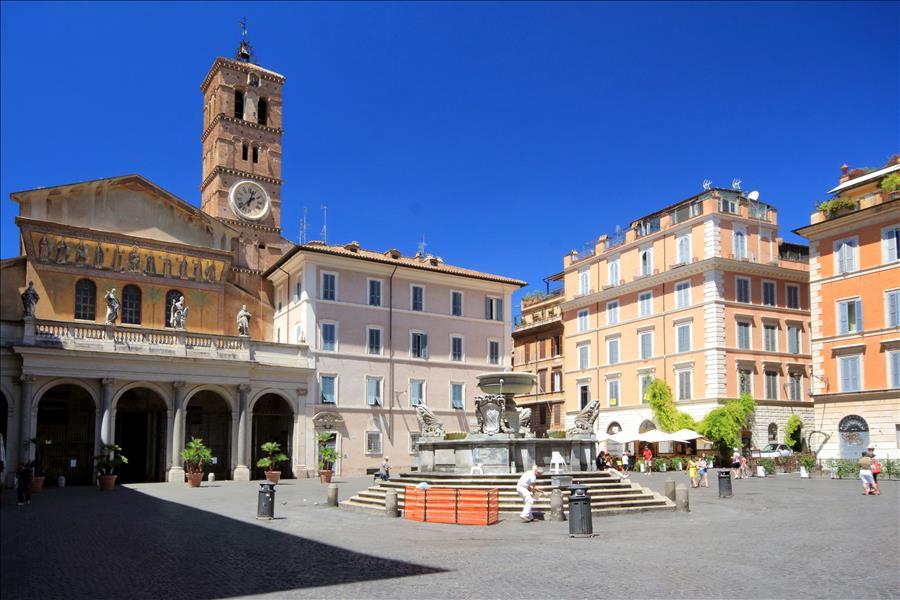 Romantic Studio In Trastevere Area Rome