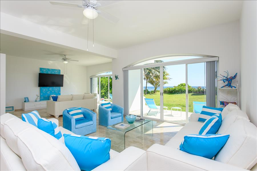 Villa Coralina in Puerto Morelos with amazing ocean view thumbnail
