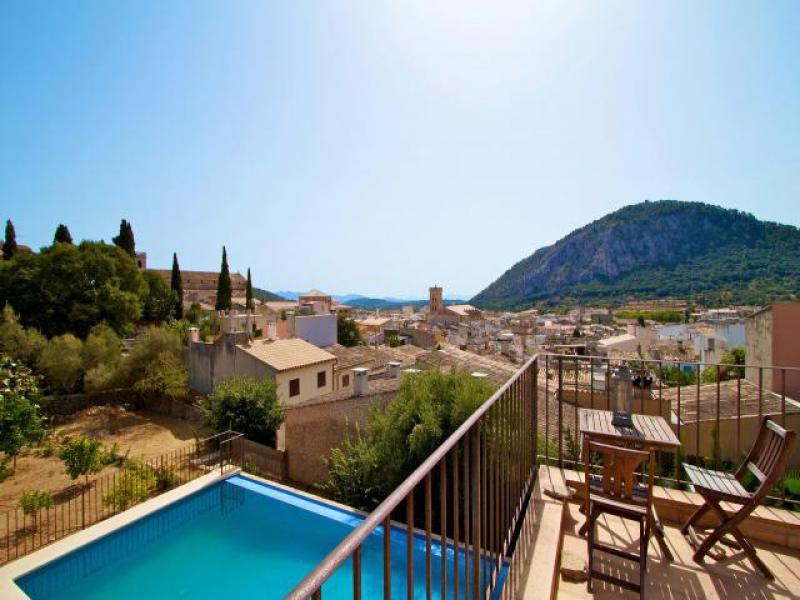 Can Llobera Is A Holiday Town House In Pollensa Mallorca