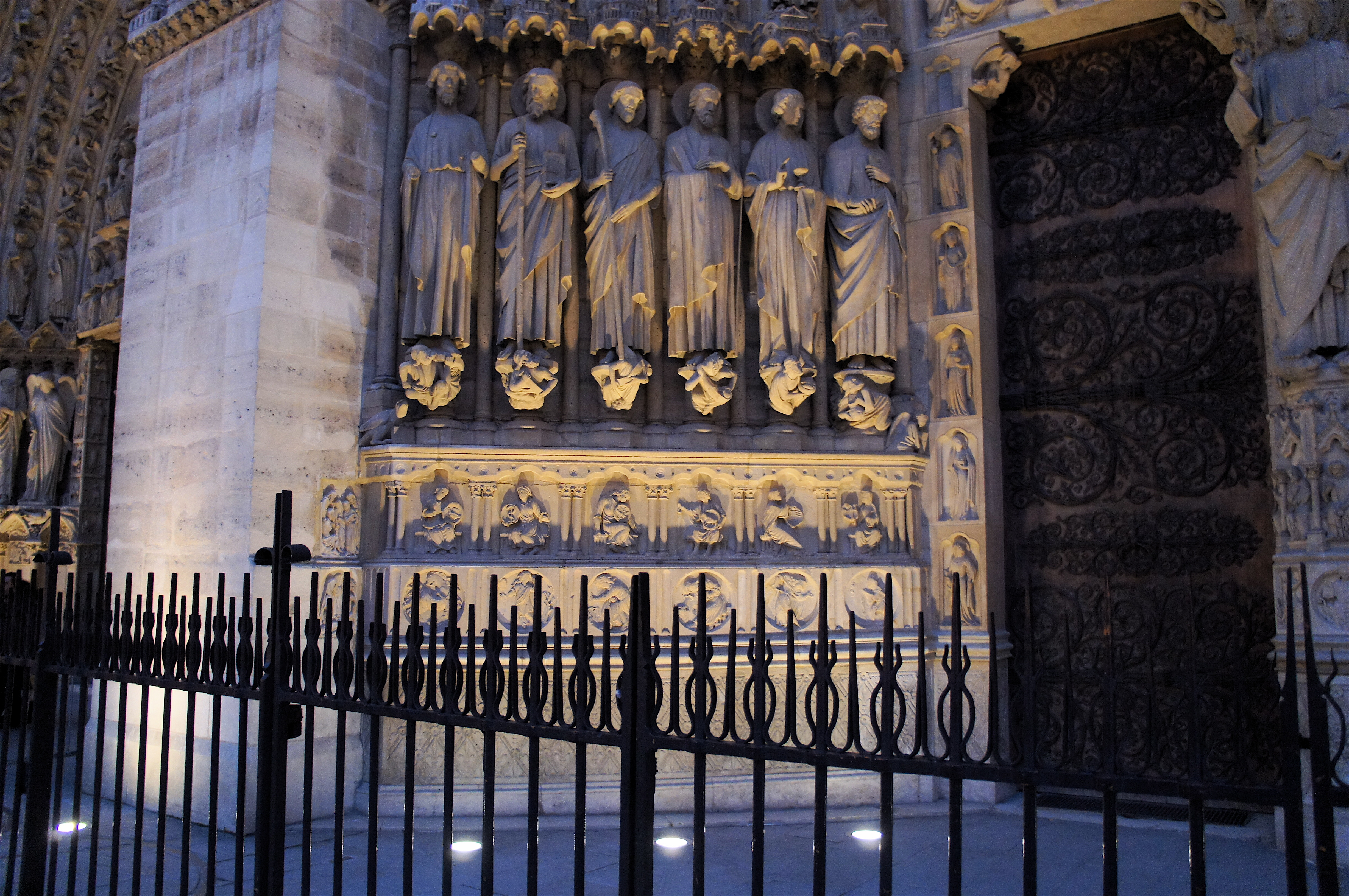 Cathedral of Notre Dame de Paris Facade