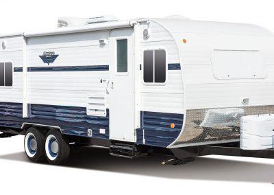 2016-Riverside-RV-Retro-199FKS-Exterior-Front-3-4-Door