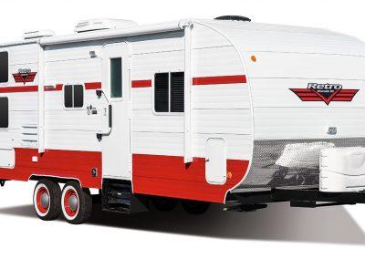 2017-Riverside-RV-Retro-265RB-Exterior-Front-3-4-Door