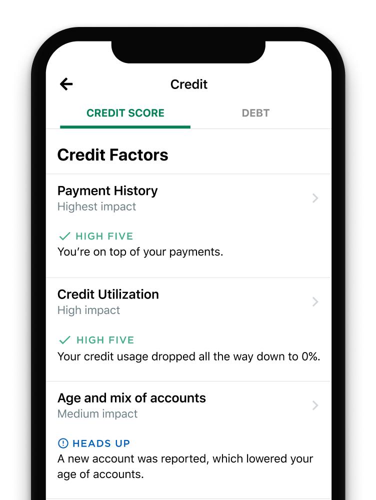 free credit report app