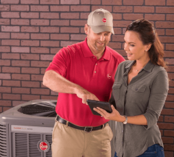 Reece's Heating and Air air conditioning and furnace repair services