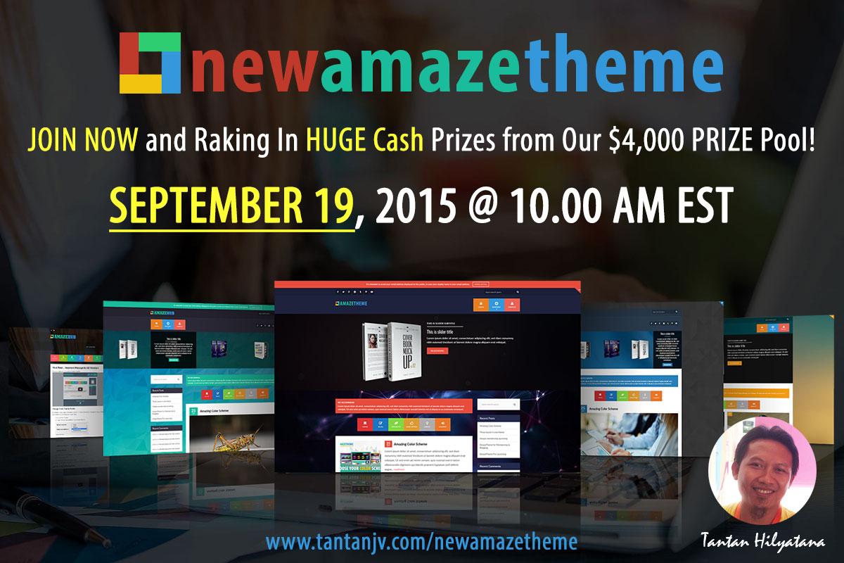 NewAmazeTheme Launch