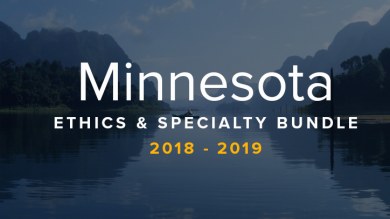 Minnesota Ethics & Specialty CLE Bundle 2018-19