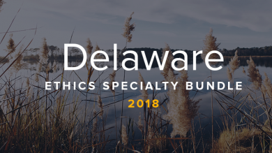 Delaware Ethics CLE Bundle 2018