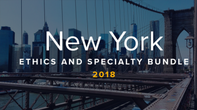 New York Ethics and Specialty CLE Bundle 2018