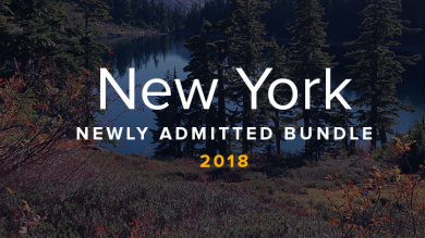 New York Newly Admitted Bundle 2018