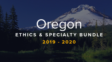 Oregon CLE Ethics and Specialty Bundle 2019-2020