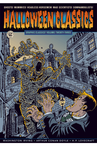 Graphic Classics Vol #23 Halloween Classics