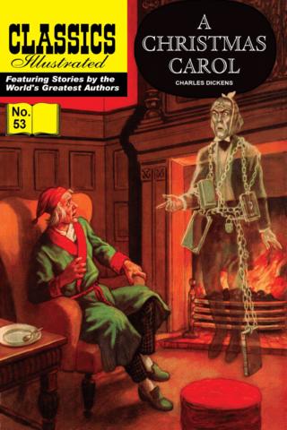 A Christmas Carol - Classics Illustrated #53