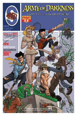 Army of Darkness Shop Till You Drop Dead #2