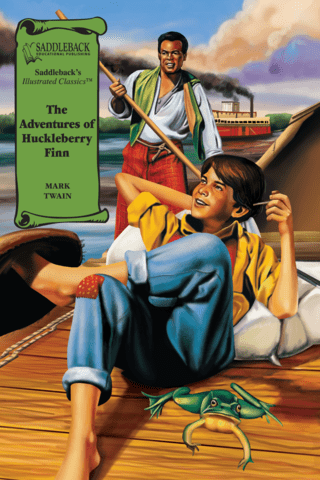 The Adventures of Huckleberry Finn Illustrated Classics