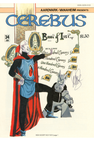 Cerebus: High Society #9