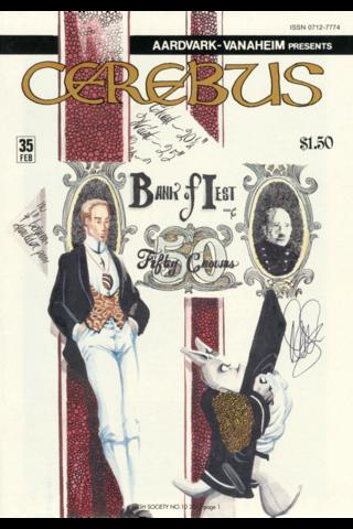 Cerebus: High Society #10
