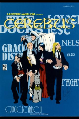 Cerebus: High Society #15