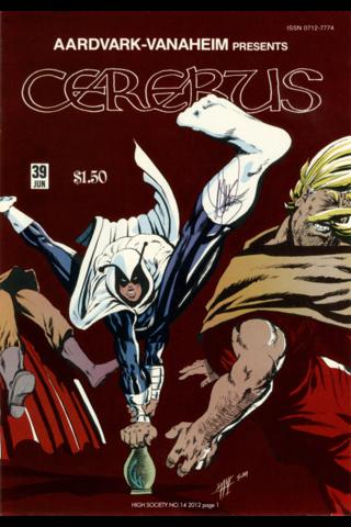 Cerebus: High Society #14