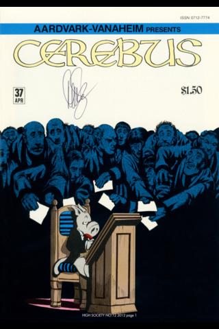 Cerebus: High Society #12