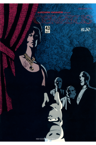 Cerebus: High Society #18