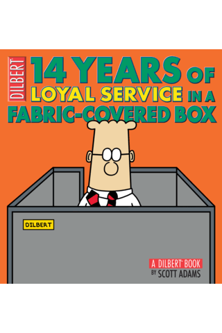 Dilbert: 14 Years of Loyal Service in a Fabric-Covered Box