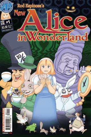 Alice in Wonderland: The Manga #1