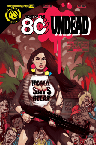 Night of the 80's Undead #1