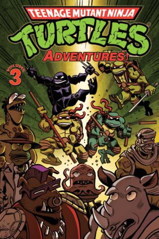 Teenage Mutant Ninja Turtles: Adventures Vol #3
