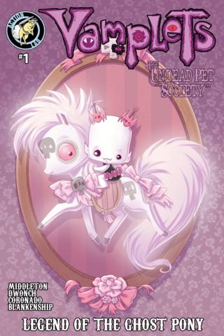 Vamplets: Undead Pet Society #1