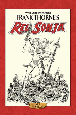 Frank Thorne's Red Sonja Art Book Vol #1