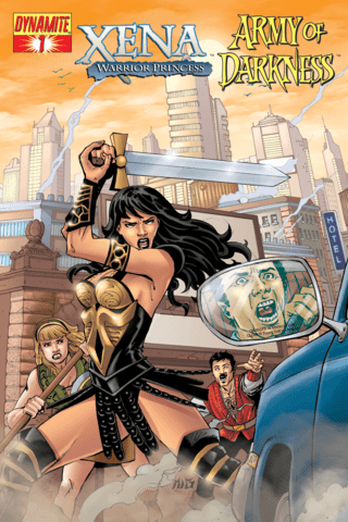Xena: Warrior Princess vs. Army of Darkness - What Again? #1