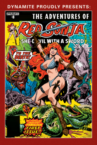 The Adventures of Red Sonja #8