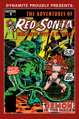 The Adventures of Red Sonja #9