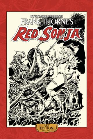 Frank Thorne's Red Sonja Art Book Vol #3