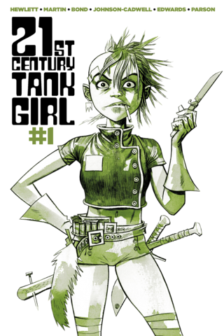 21st Century Tank Girl #1