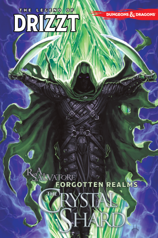 Dungeons & Dragons: The Legend of Drizzt Vol #4 The Crystal Shard