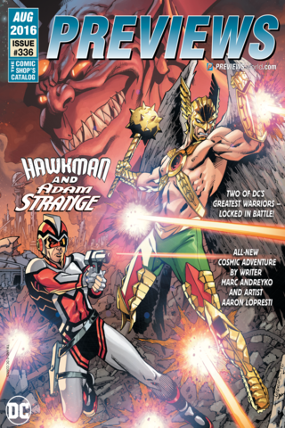 Previews #335 August 2016