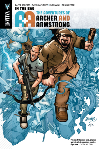 A&A: The Adventures of Archer & Armstrong Vol #1 In the Bag