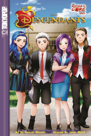 Disney Descendants: Rotten to the Core Vol #3